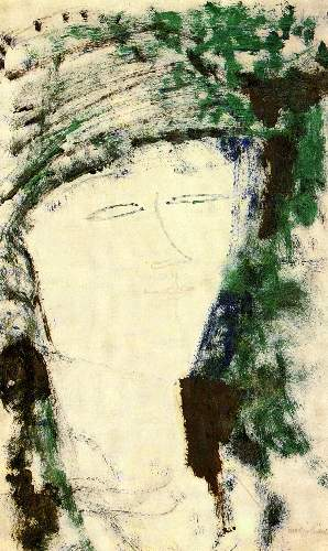 Modigliani - Portrait of Beatrice Hastings [4]